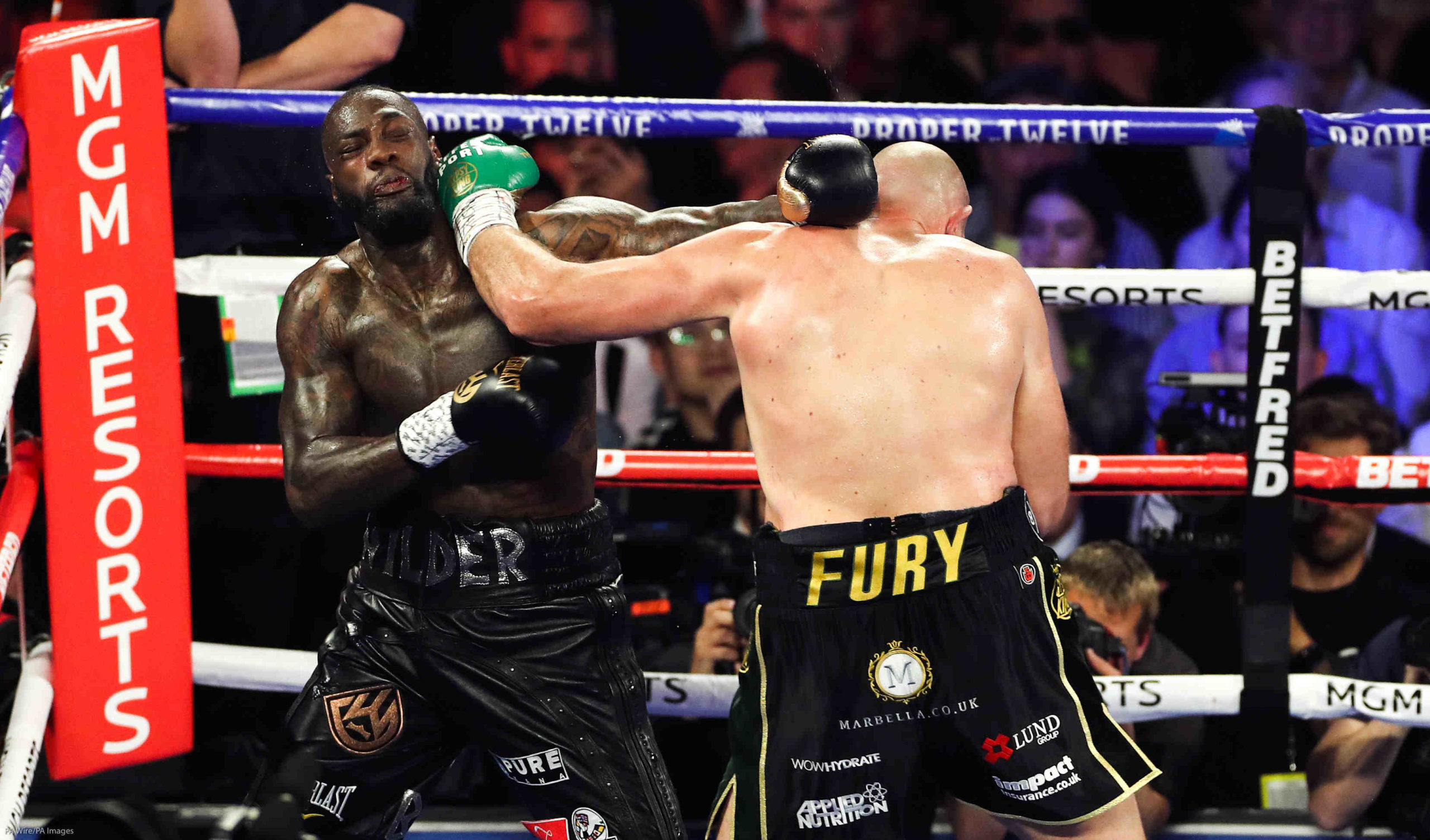 Boxe : Tyson Fury lance «la guerre» avec Anthony Joshua !