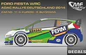 """Une Ford Fiesta WRC """"2017"""" en vente"""