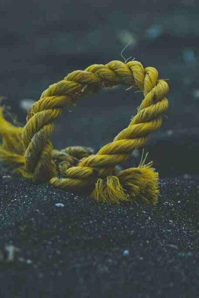 Comment  Enrouler une corde d'escalade
