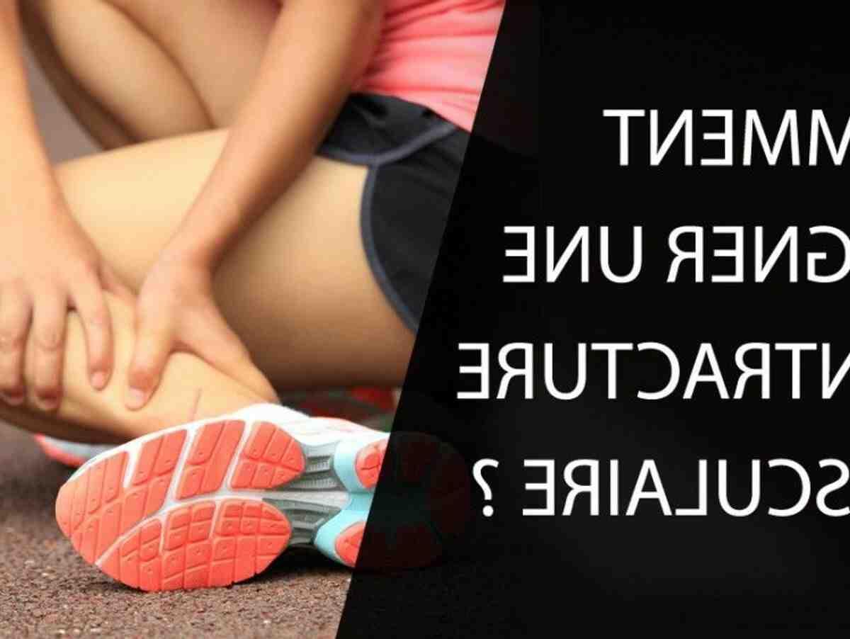 Comment  Soigner une élongation musculaire
