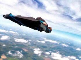 Quelle vitesse en wingsuit ?